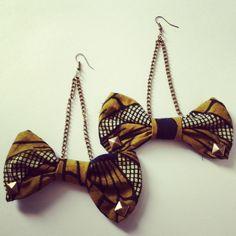 Ankara earrings  by yayasjewels on Etsy, $8.00