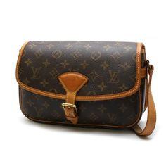 Louis Vuitton Sologne Monogram Cross body bags Brown Canvas M42250
