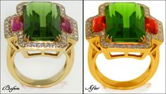 I am always imagining how that special ring which I booked for my fiance looks much better in the news paper & advertisement or my fiance finger? If you are exactly think like that then I tell you the reason behind that it is a jewelry retouching, a field where sparkle & shine matters the most. In the industry of jewelry retouching, having the biggest chance to shoot curious & unique designs along with stones is a vast opportunity.