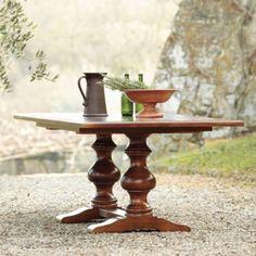 Tarvine Double Pedestal Dining Table | European-Inspired Home Furnishings | Ballard Designs