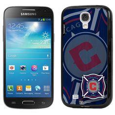 Chicago Fire SC Samsung Galaxy S4 Bumper Case - Navy Blue - $11.99