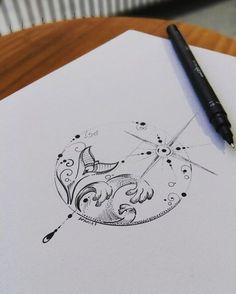 Best 11 fishman mandala tattoo design by Benz.Com Best 11 fishman mandala tattoo design by Benz. Trendy Tattoos, Small Tattoos, Cool Tattoos, Gorgeous Tattoos, Awesome Tattoos, Mandala Tattoo Design, Small Mandala Tattoo, Neue Tattoos, Body Art Tattoos