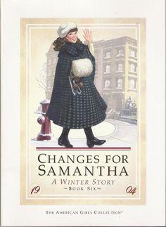 American Girl: Samantha. She is my favorite American girl. #americangirl #samantha #book