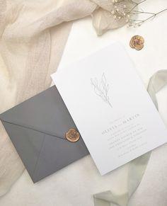 www.dahliabylauren.co.uk Bespoke Wedding Invitations, Botanical Wedding Invitations, Wedding Stationery, Star Wedding, Wedding Menu, Flower Invitation, Menu Cards, Save The Date, Colorful Backgrounds