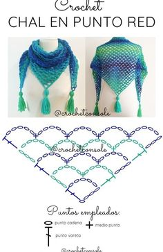 Crochet Shawl Diagram, Crochet Shawl Free, Crochet Shawls And Wraps, Crochet Chart, Filet Crochet, Crochet Scarves, Crochet Lace, Crochet Hooks, Patron Crochet