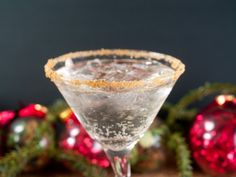 Gingerbread Martini from CDKitchen.com