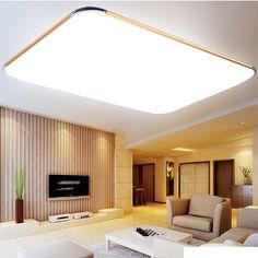 LED Panel Ceiling Light Bathroom Kitchen Flush Lamp 15W Warm White #Affiliate
