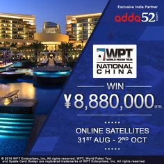 #Adda52.com Launches Online Satellites for WPT® National China