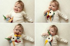 DIY: 12 Simple (Free Tutorials!) Baby Toy Projects