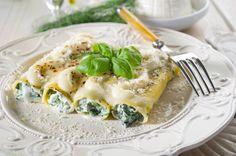 Cannelloni przepis ze szpinakiem