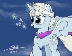 Frozen/MLP:+Let+It+Go+by+EquestrianMarine.deviantart.com+on+@deviantART