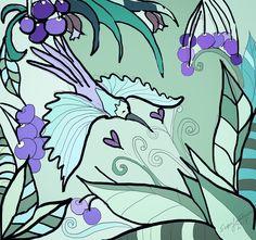 Kolibri+luomupuuvillaneulos