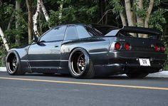 Nissan Skyline Gtr R32, Nissan R32, R32 Gtr, R32 Skyline, Tuner Cars, Jdm Cars, Stance Nation, Street Racing Cars, Auto Racing