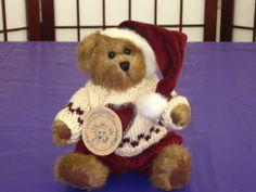 """BOYDS BEARS & FRIENDS BAILEY CHRISTMAS PLUSH BEAR 8"""""""