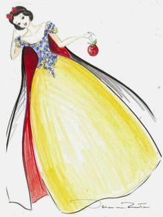 'Once Upon A Dream - Part 1': bocetos y escaparates
