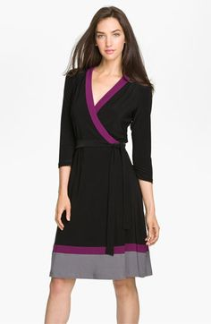 Alex & Ava Wrap Dress - Made in the USA #commandress