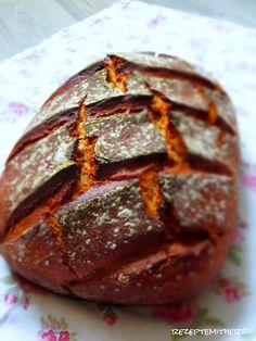 Der Duft von frisch gebackenem Brot ist unwiderstehlich. Es duftet einfach herrlich im ganzen Haus.  Selbstgebackenes Brot schmeckt einfach ...