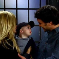 For the Week of April 14, 2014 - Lulu and Dante were reunited with their son, Liesl met up with her sister in jail, Liz found herself juggling two men, and Maxie returned home with a new guy from Down Under. It's time to have a party with Two Scoops of General Hospital shenanigans.