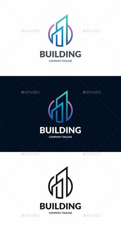 Building: Building Logo Design Template by Building Logo, Property Logo, Architecture Logo, Ancient Architecture, Construction Logo Design, Security Logo, Real Estate Logo Design, City Logo, Creative Logo