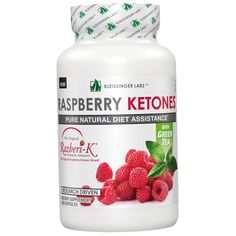 Kleissinger Labs, Raspberry Ketones With Green Tea, 100 Capsules