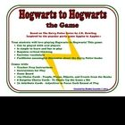 You've read the book, you've seen the movie, now it's time to play the game! Your students will love Hogwarts to Hogwarts, a game based on the popu...