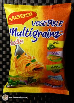 A review by The Ramen Rater of Maggi India's Multigrainz instant noodles. These noodles are fit for vegetarian consumption.
