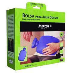 BOLSA ÁGUA QUENTE M 1,4L BORDÔ MERCUR | Melhor Preço! - Cirúrgica Joinville | Produtos Médicos e Hospitalares
