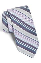 Ted Baker London Stripe Linen & Silk Tie available at Nordstrom.