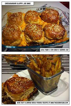 cheeseburger sloppy joe bake