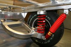 airbag suspension on trailer, your thoughts please. Source by Work Trailer, Off Road Camper Trailer, Trailer Diy, Trailer Plans, Trailer Build, Utility Trailer, Welding Trailer, Trailer Axles, Atv Trailers