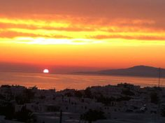 Mykonos Sunset Photo by Elena Ravano