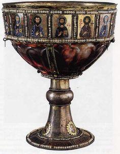 Caliz,siglo III -IV  Epoca Bizantina  Museo del Louvre