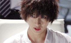 "[GIF] & [Preview, Ep.7] https://www.youtube.com/watch?v=CODDPN_PGt8    Kento Yamazaki, Masataka Kubota, Hinako Sano, Yutaka Matsushige.  J drama series ""Death Note"", 08/02/'15 [Ep. w/Eng. sub] http://www.dramatv.tv/search.html?keyword=Death+Note+%28Japanese+Drama%29"