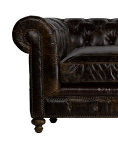 American Heritage English Cigar Club Chesterfield Sofa off