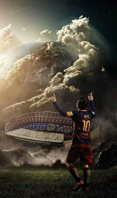 "Lionel Messi (Barcelona ""Mes Que Un Club"") Neymar, Cr7 Messi, Messi And Ronaldo, Ronaldo Real, Cristiano Ronaldo, Football Messi, Messi Soccer, Sports Football, Watch Football"