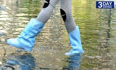 Get 62% #discount on Bearcat Foldable Boots - Baby Blue #onlinedeals #bearcat