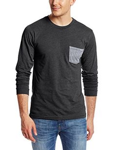 Volcom Men's Fall Twist Long Sleeve T-Shirt, Charcoal Heather, X-Large Volcom http://www.amazon.com/dp/B00K8QFBAU/ref=cm_sw_r_pi_dp_V4pEub1SZFKD5  Just XL size in charcoal heather(nice right)