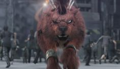 Red XIII Final Fantasy VII: Advent Children Anime Tribute