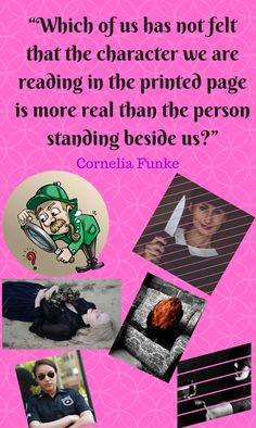 """""""Which of us has not felt that the character we are reading in the printed page is more real than the person standing beside us?"""" Author Quote by Cornelia Funke Author Quotes, Latest Books, Authors, Quotations, Novels, Felt, Writing, Printed, Reading"""