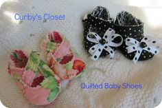 Curby's Closet Baby Shoes Patterns