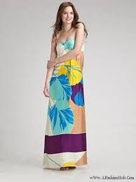 COLORFUL MAXI STYLE FOR ATTRACTIVE WOMEN Girls Maxi Dresses, Fashion Dresses, Maxi Styles, Tie Dye Skirt, Designer Dresses, Colorful, Children, Skirts, Vintage