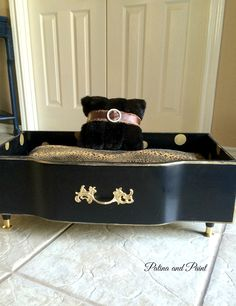 glam dog beds - Google Search