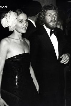 Ali MacGraw and Steve McQueen at the American Film Institute's Salute to James Cagney, March 1974.