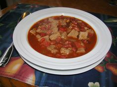 Crock Pot Stew Meat Chili         The Southern Lady Cooks