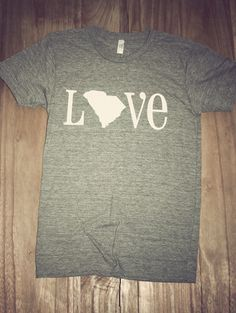 Classic State Love Tee- South Carolina | Charlie Southern