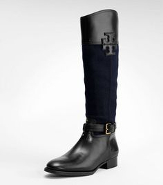 Tori Burch riding boots are def on my to buy list!
