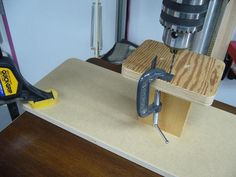 Drill Press I-Beam - by Bricofleur @ LumberJocks.com ~ woodworking community