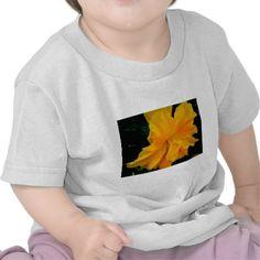 Yellow Frilly Hibiscus Tshirt