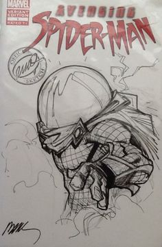 Mysterio by Humberto Ramos