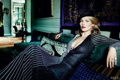 From the Magazine: Kate Moss and Chiwetel Ejiofor in Urban Resort Looks - Magazine
